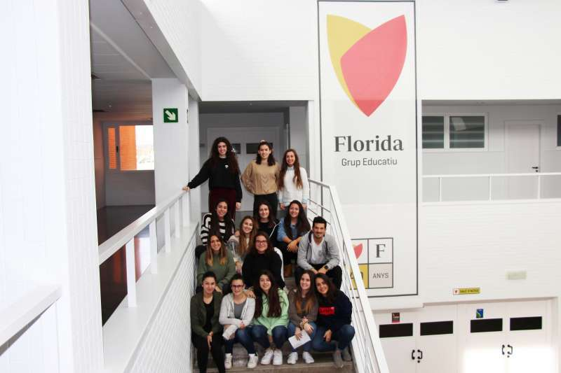 Alumnos de Florida Universitària. EPDA