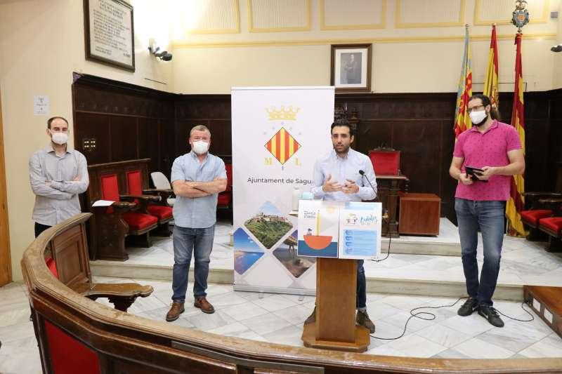 Javier Raro, Quico Fernández, Darío Moreno y Guillermo Sampedro.