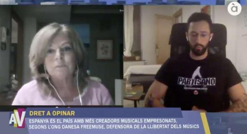 Imagen del programa de la televisión pública valenciana.
