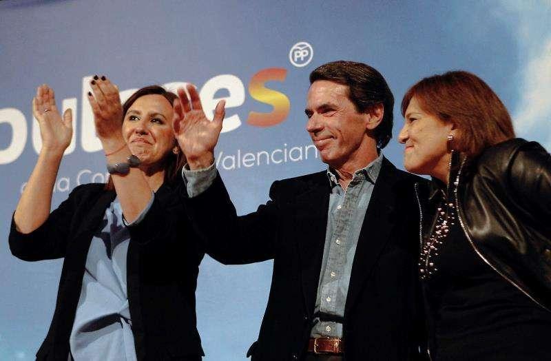 Aznar, Bonig y Català en el acto celebrado ayer en València