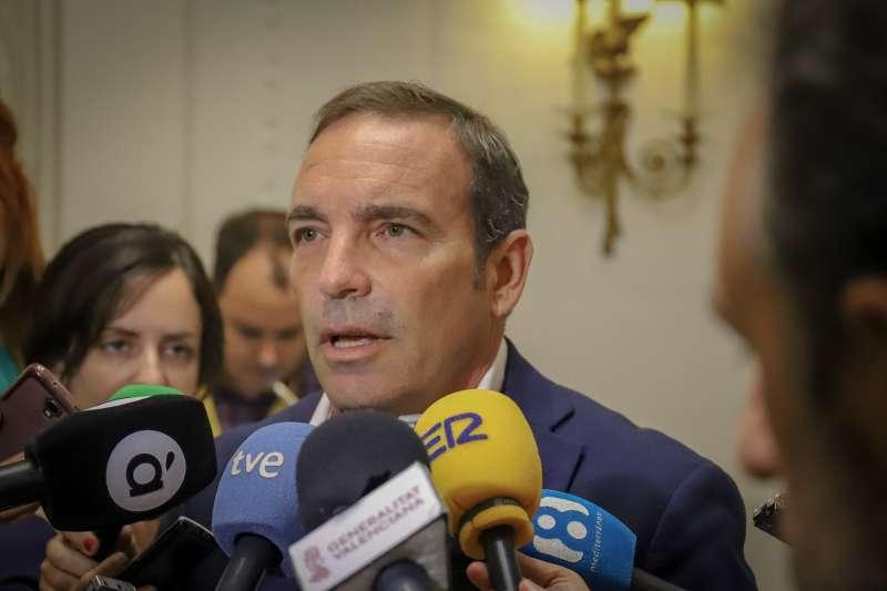 El responsable de Hacienda y Economía de Ciudadanos (Cs) en Les Corts valencianas, Tony Woodward. epda
