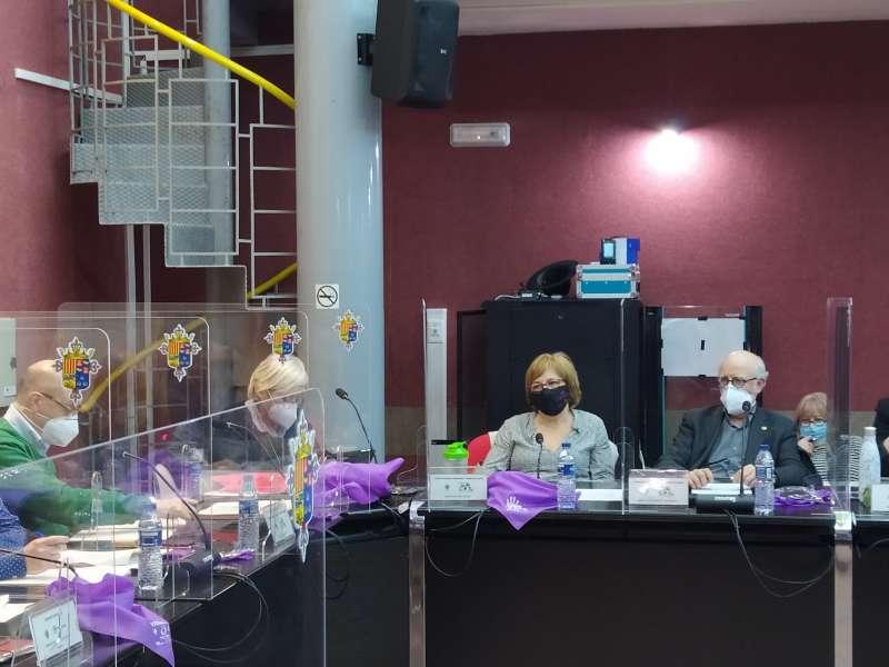 Imagen del pleno del Ayuntamiento.