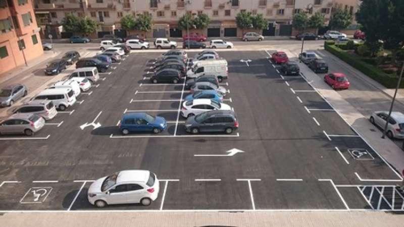 Nou aparcament a Meliana. EPDA