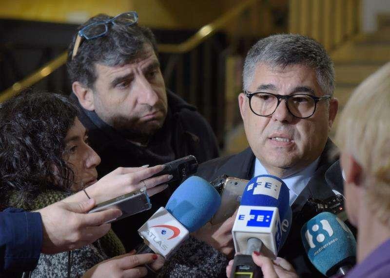 El delegado del Gobierno en la Comunitat Valenciana, Juan Carlos Fulgencio. EFE/Archivo