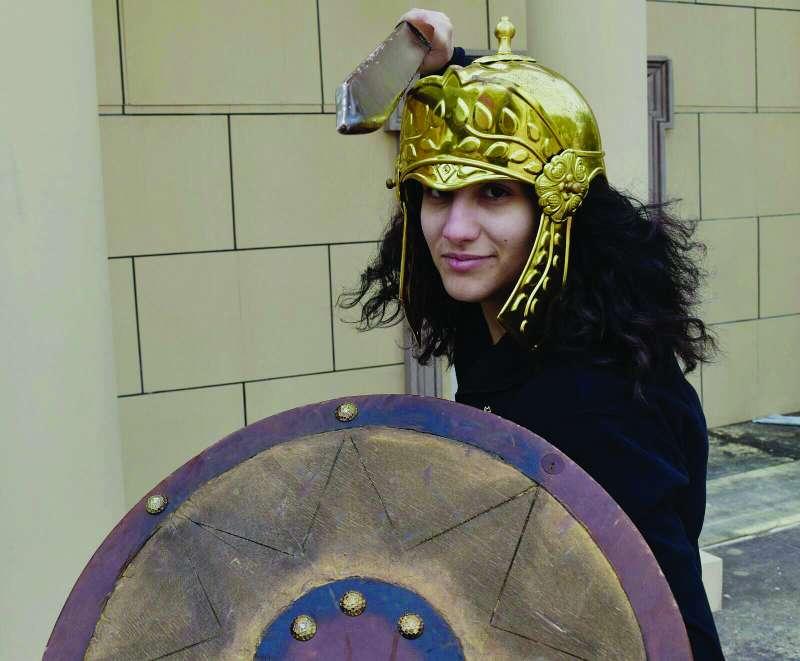 Mujer legionaria de Benetússer. EPDA