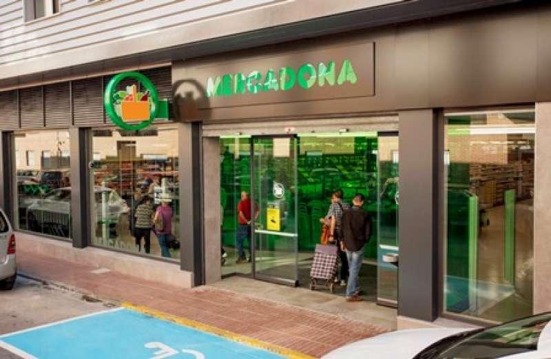 Fachada del nuevo supermercado de Museros. EPDA