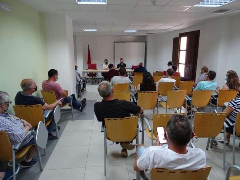 La reunión se celebró en el palacete de San Antón