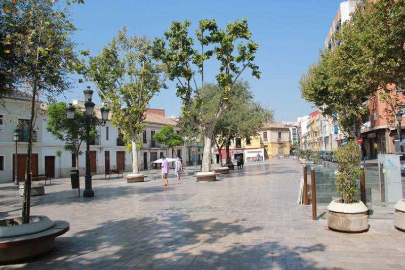 Plaza de Patraix. EPDA