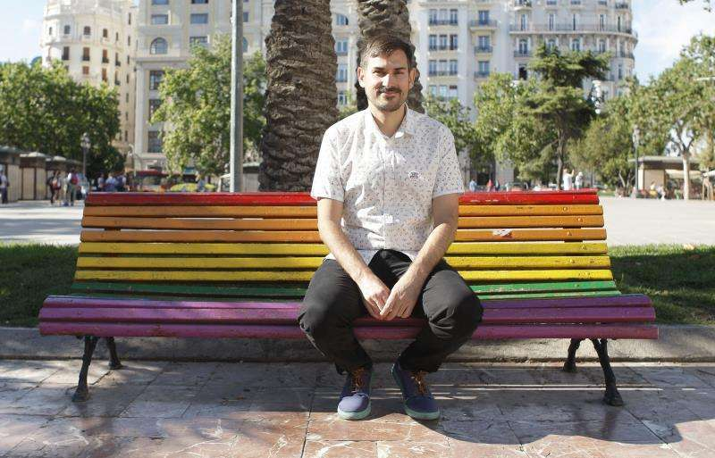 Sergi Campillo, concejal de València. EPDA