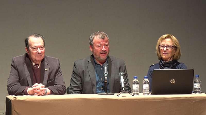 Amadeo Ribelles, Quico Fernández y Carmen Aranegui
