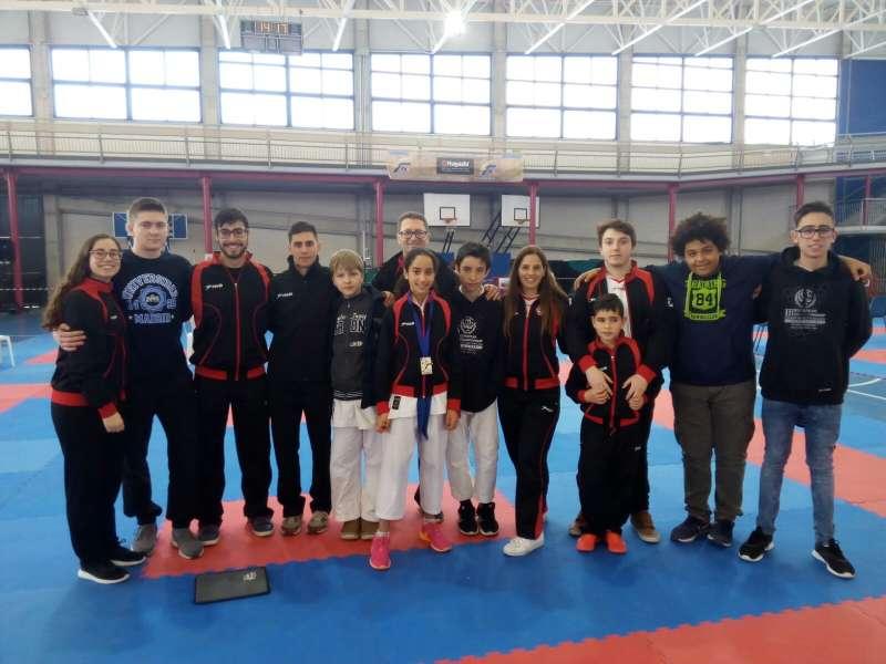 Los miembros del Karate Club de Alboraia, //EPDA
