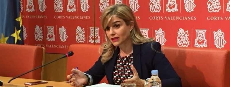 La portavoz adjunta del Grupo Parlamentario Popular en Les Corts, Eva Ortiz. EPDA