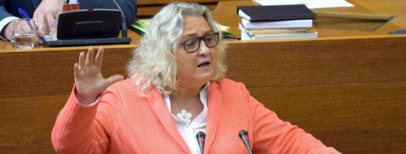 La portavoz de Justicia del GPP, María José Ferrer San-Segundo