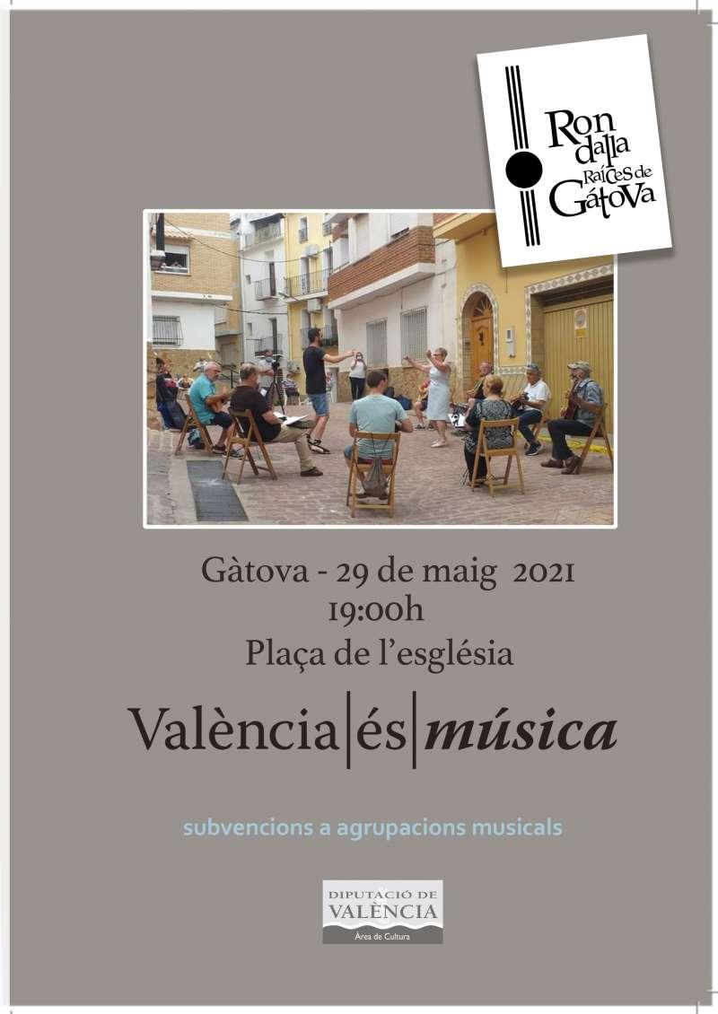 Cartel informativo sobre el concierto. EPDA.
