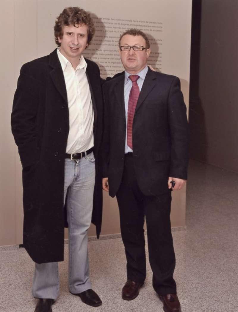 Gabino Diego y José Salvador Murgui. / JSSM