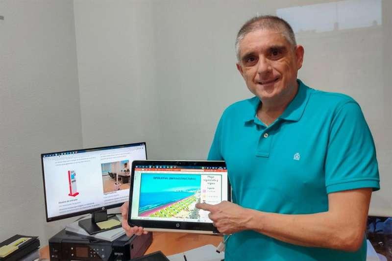 La empresa tecnológica Amazing Up (en la imagen, Juanjo Ortiz , gerente de la empresa). EFE
