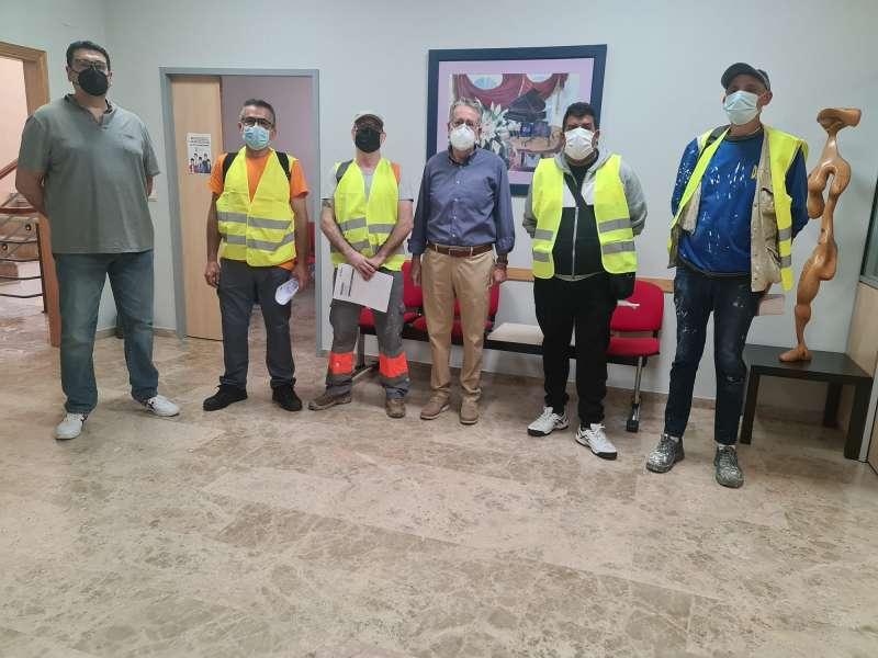 Treballadors a Albal. EPDA