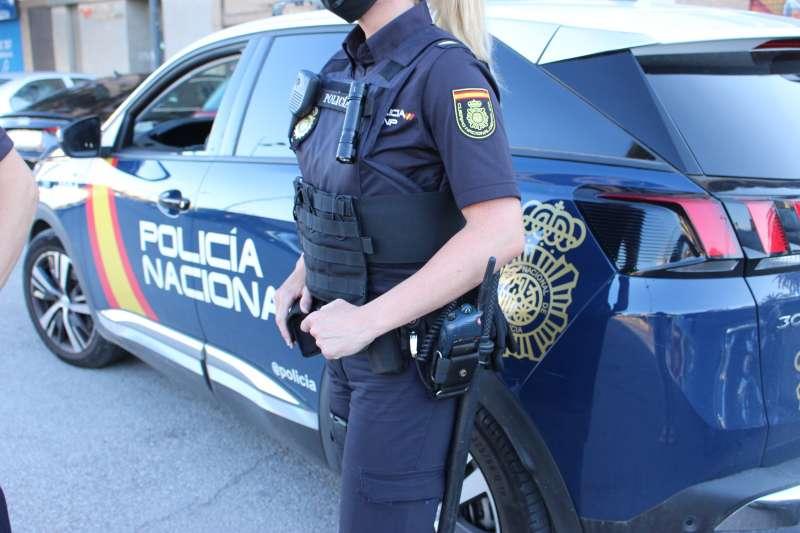 Imagen de archivo de un agente de la Policía Nacional