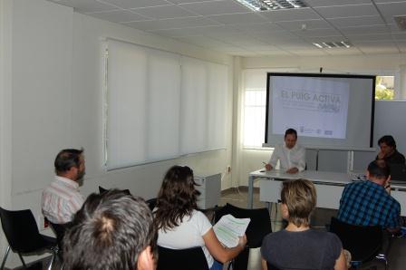 Durante la presentación del Plan a los empresarios el pasado mes de octubre. Foto: EPDA