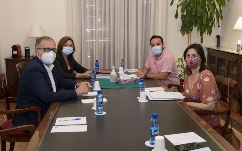 Reunión Diputación-Conselleria