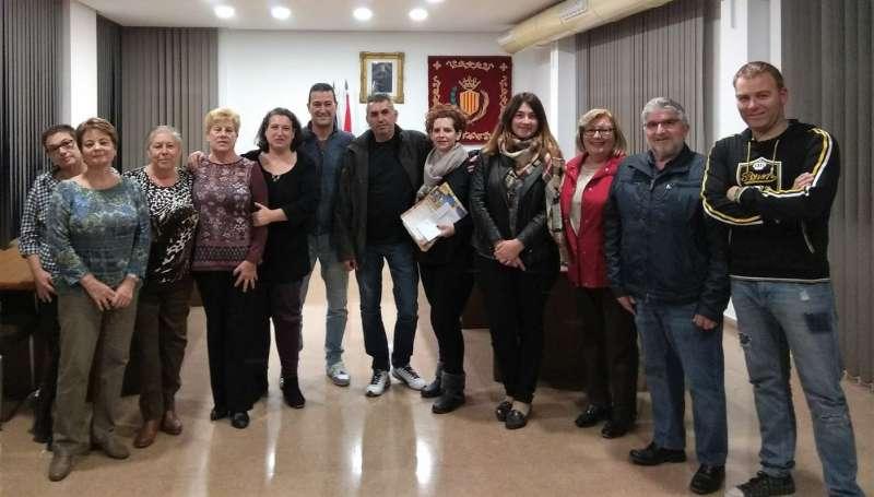 Reunió col·laborativa del departament de Festes de Xirivella.