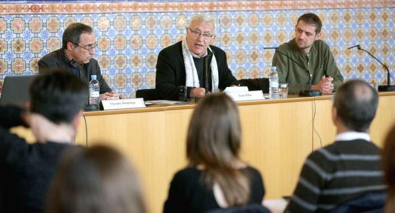 Joan Ribó durant la seua intervenció.
