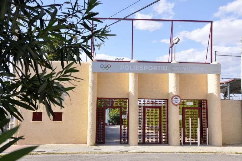Polideportivo municipal. / EPDA