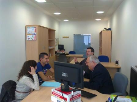 Asesoramiento a emprendedores. FOTO: EPDA