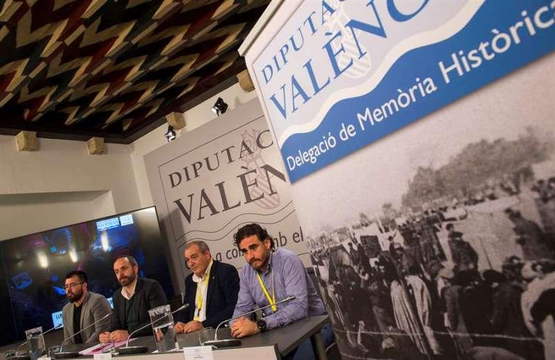 Presentación de la Diputació de València de los resultados de la prospección. EFE