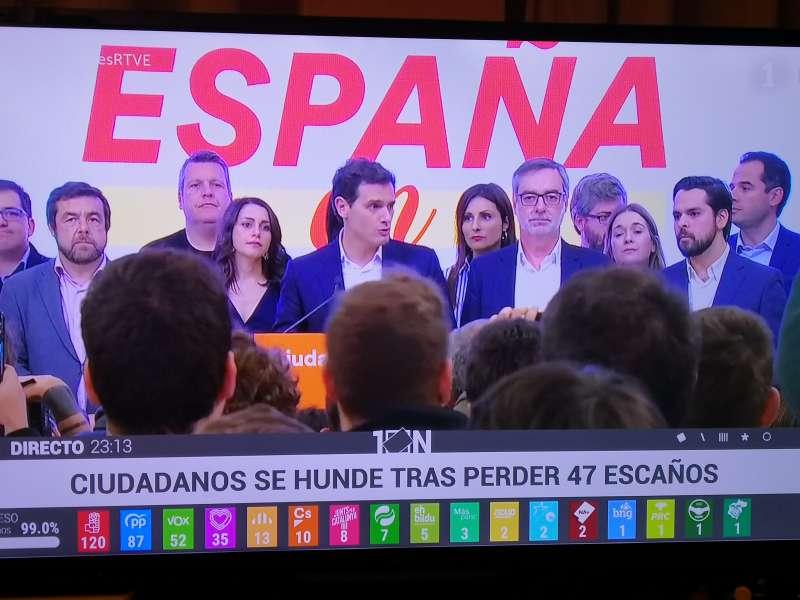Ciudadanos en TVE. EPDA