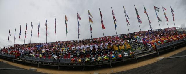 Foto de familia de los participantes. FOTO: EPDA