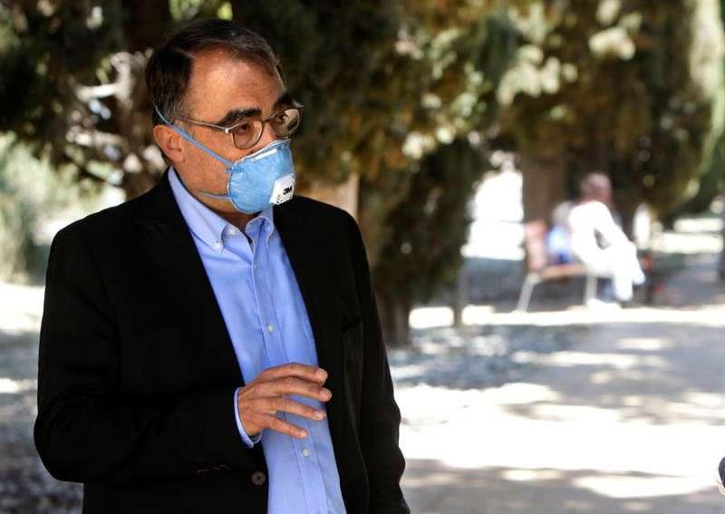 Josep Bernabeu Mestre, Catedrático de Historia de la Ciencia de la Universidad de Alicante. EFE
