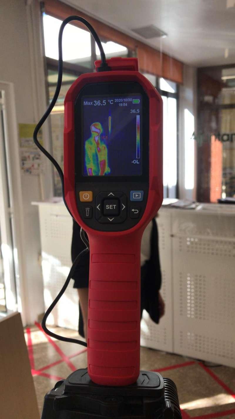 Detalle de cámara térmica./ EPDA