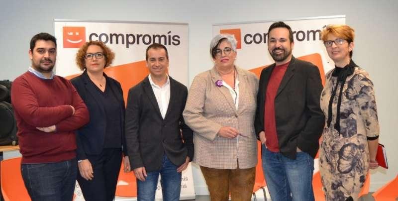 Candidatos de Compromís por Mislata