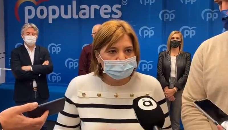 La presidente del PPCV, Isabel Bonig