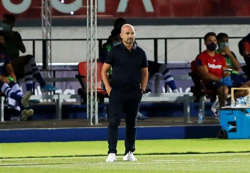 El técnico del Levante, Paco López. EFE