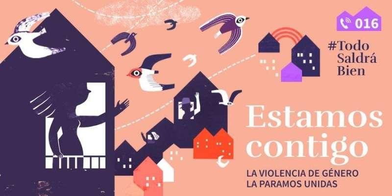 Campaña de la Delegación del Gobierno contra la Violencia de Género.