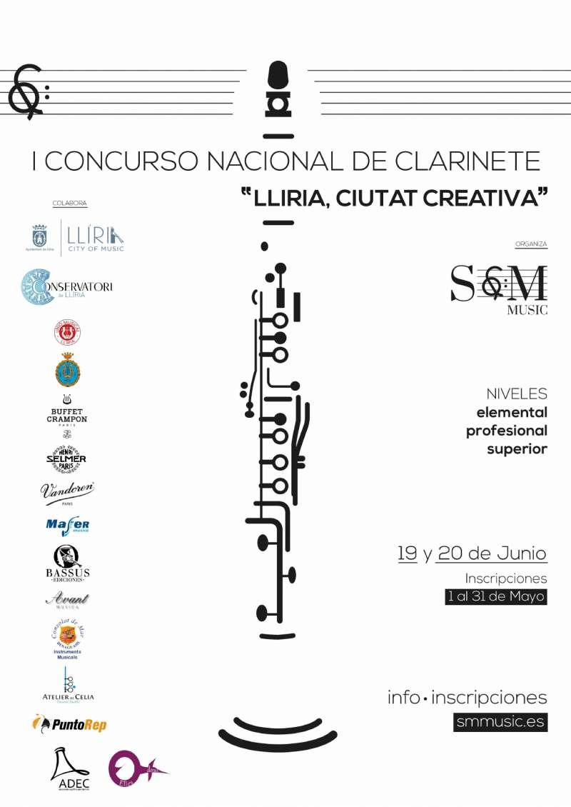 Concurso Nacional de Clarinete. EPDA.