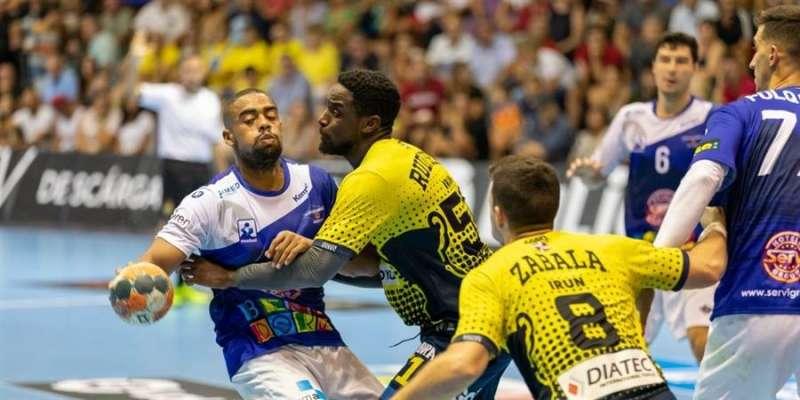 Anterior partido entre el Benidorm y el Irún, en una imagen compartida en redes por el club alicantino.