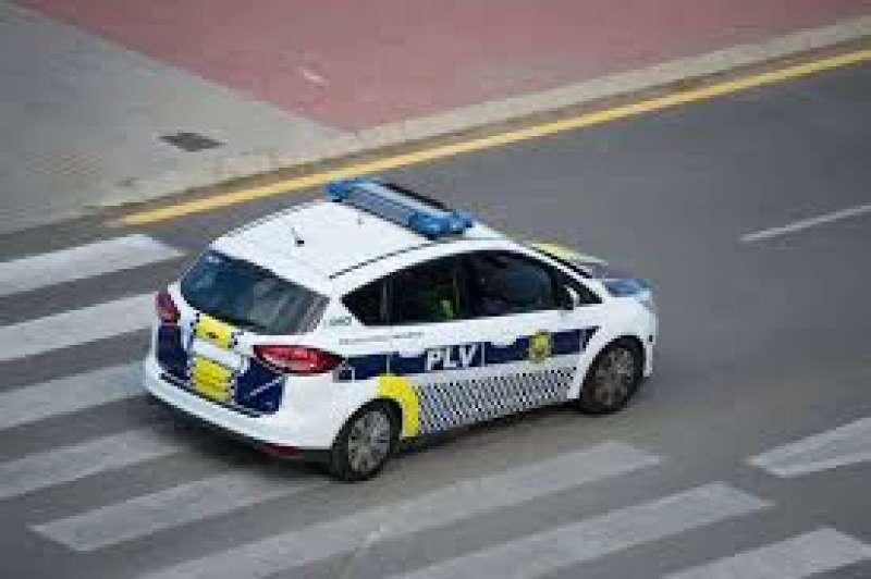 Coche de policía. EPDA