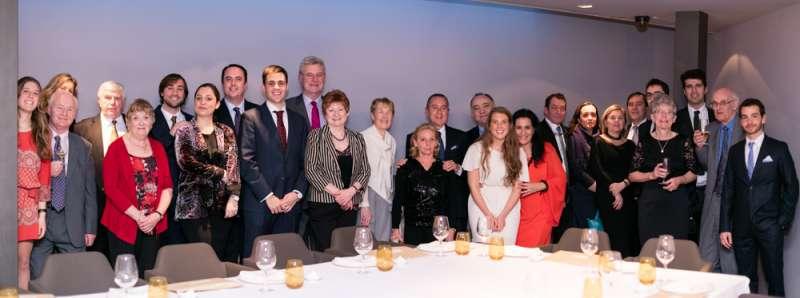 Miembros de la Sociedad Gastronómica Internacional