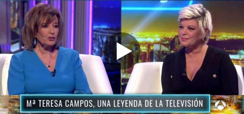 Las Campos, en Antena 3. FOTO ANTENA3