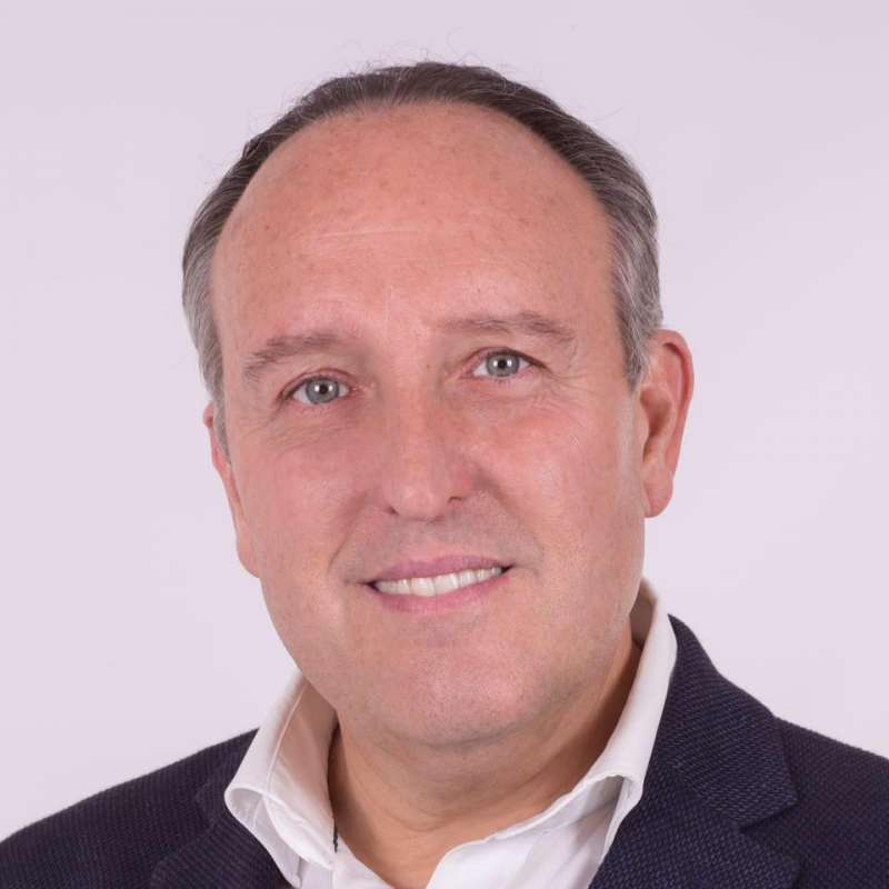 Candidato del PP, Vicente Ibor