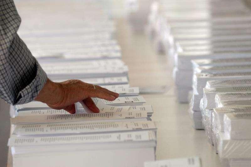 Papeletas de las elecciones municipales del pasado 26 de mayo. EFE/Archivo