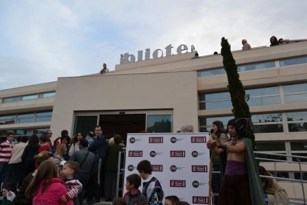 Numerosas personas han acudido a la instalación durante el fin de semana. FOTO: EPDA.