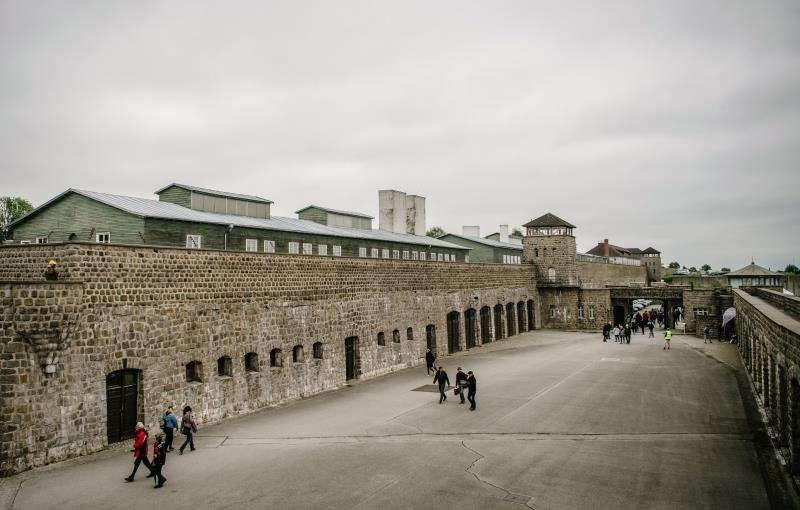 Vista del campo de concentración de Mauthausen. EFE/Archivo