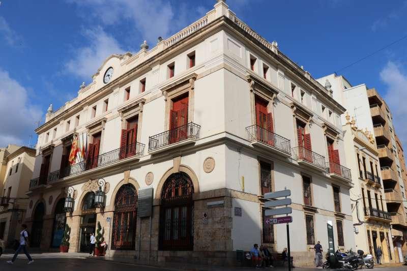 Ayuntamiento de Sagut. EPDA