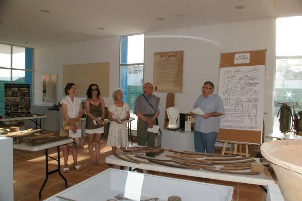 Inauguración de la muestra en el Museo Etnológico. EPDA