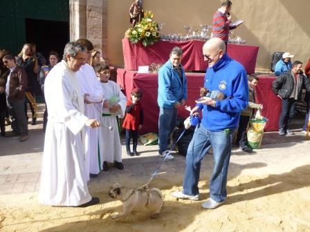 Imagen de archivo de la celebración de Sant Antoni en Moncada.