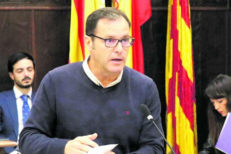 El portavoz del PP en Sagunt, Sergio Muniesa. EPDA